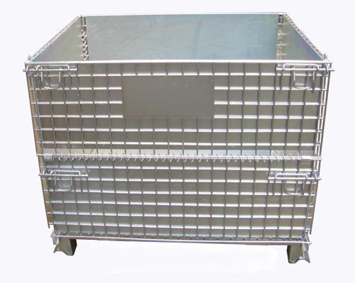 仓储笼加铁板